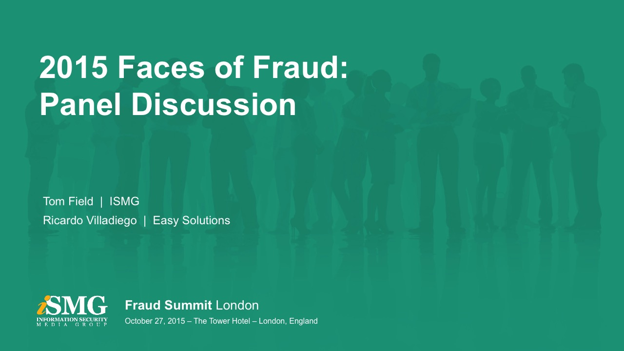 2015 Faces of Fraud - London