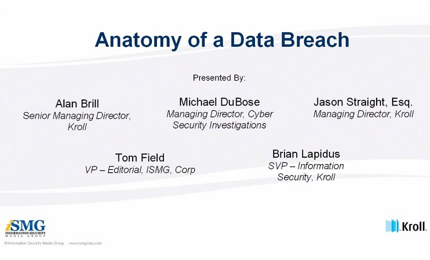 The Anatomy of a Data Breach