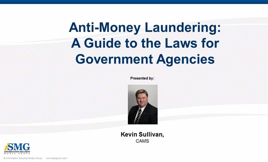 money laundering and the need for