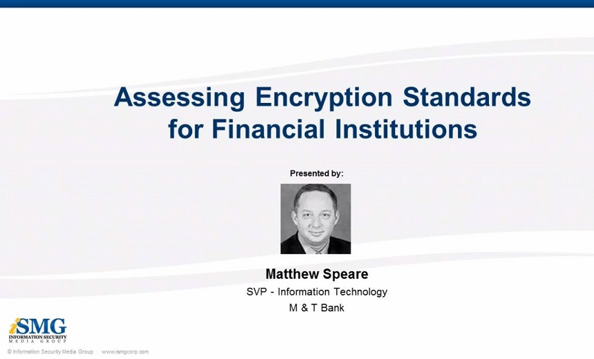 Assessing Encryption Standards for Financial Institutions