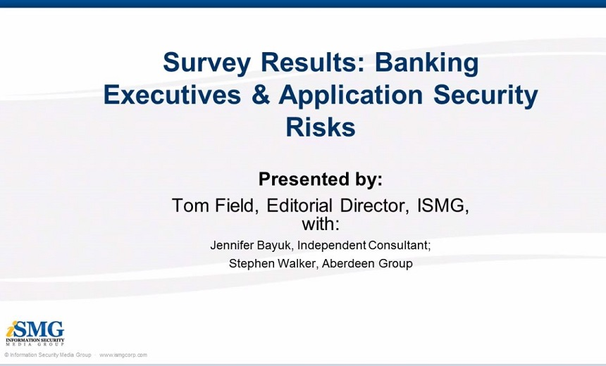 Banking IT Executives & Application Security Risks in 2009