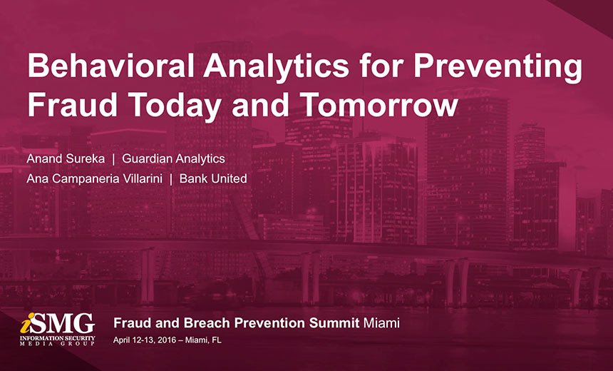 Behavioral Analytics for Preventing Fraud: Today and Tomorrow