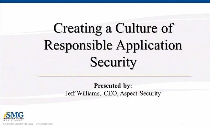 Creating a Culture of Responsible Application Security