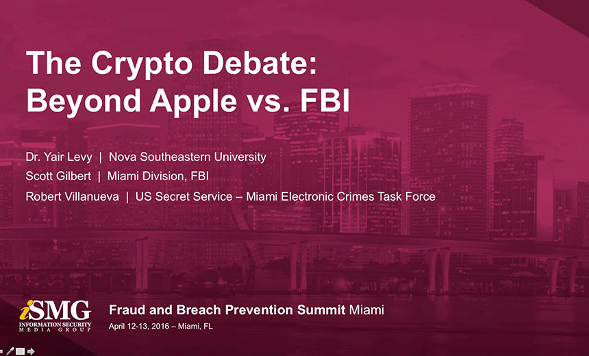 "The Crypto Debate: Beyond ""Apple vs. FBI"""
