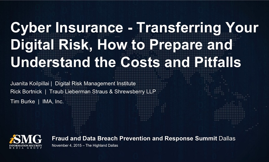 Cyber Insurance - Transfer Your Digital Risk, Prepare and Understand the Costs & Pitfalls