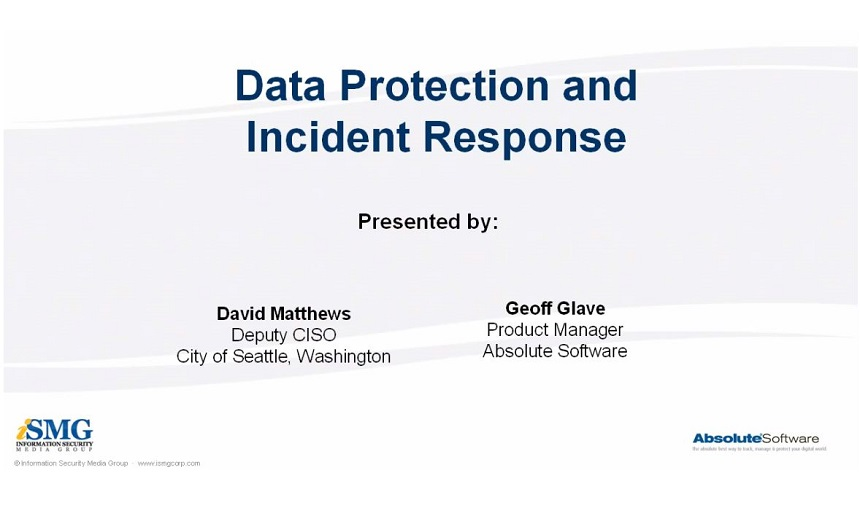 Data Protection and Incident Response