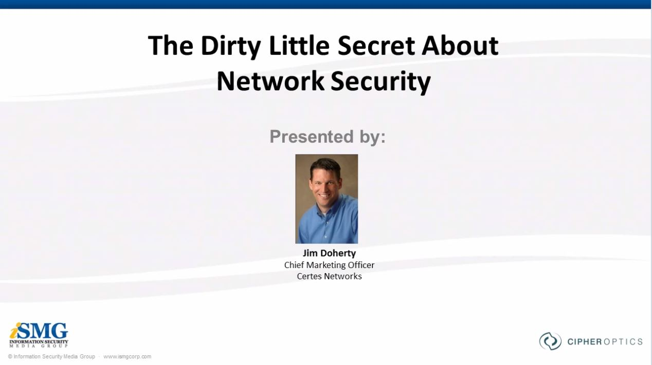 The Dirty Little Secret About Network Security