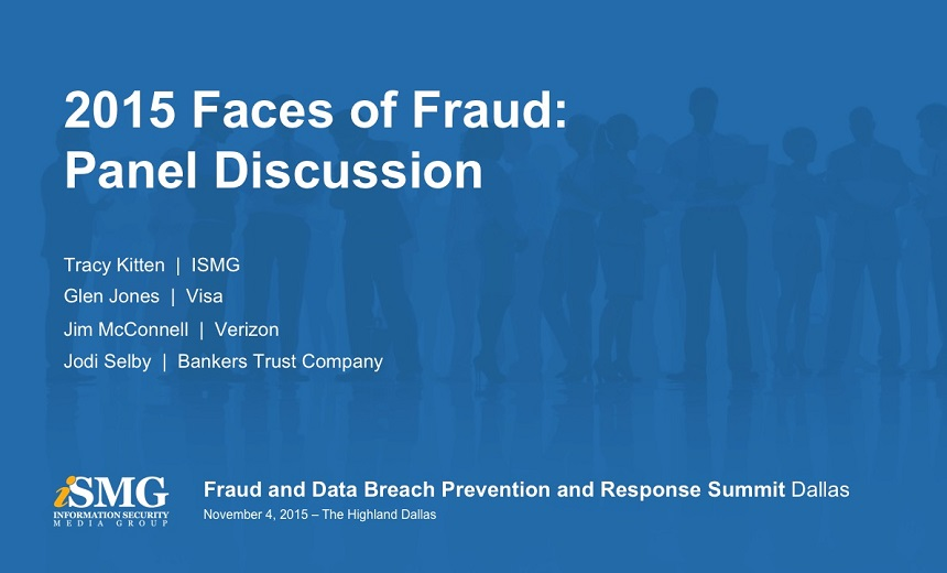 Faces of Fraud Annual Survey Panel - Dallas