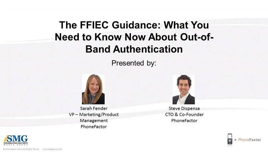 The FFIEC Guidance: What You Need to Know Now About Out-of-Band Authentication