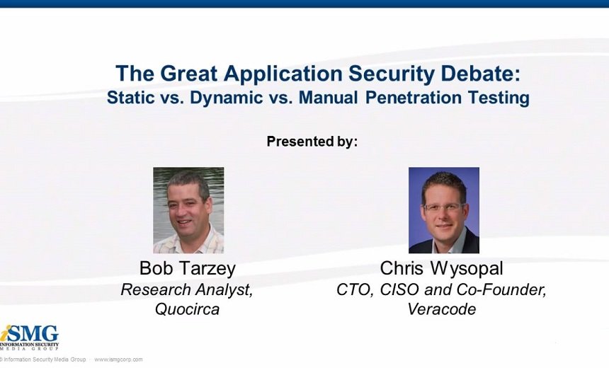 The Great Application Security Debate: Static vs. Dynamic vs. Manual Penetration Testing