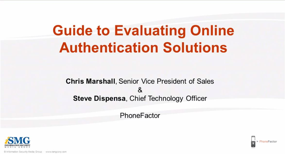 Guide to Evaluating Two-Factor Authentication Solutions