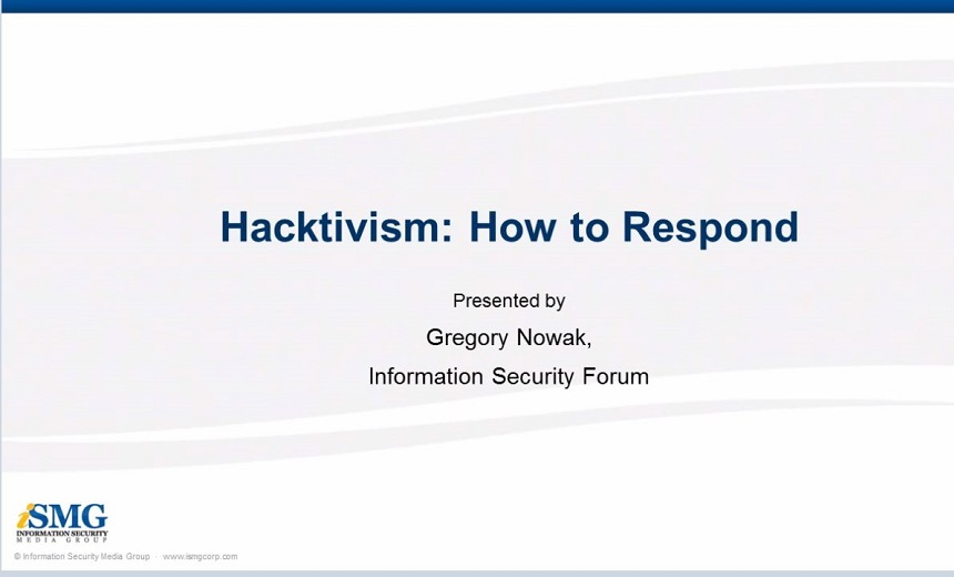 Hacktivism: How to Respond