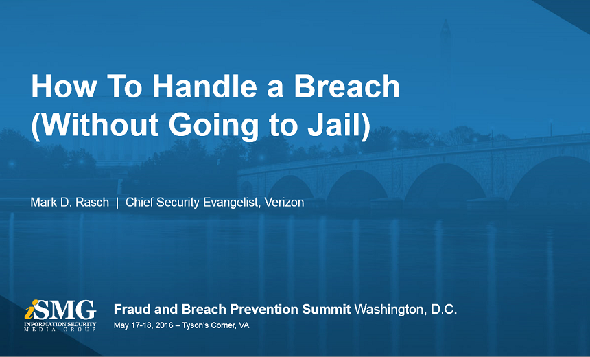 How to Handle A Breach Without Going to Jail