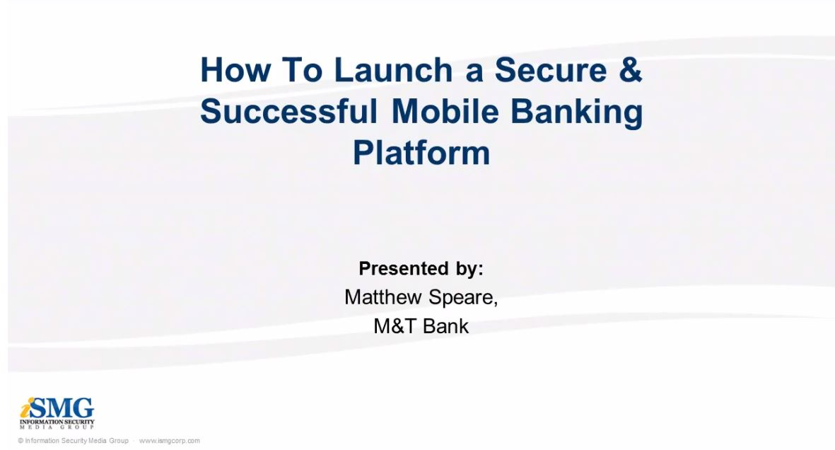 How To Launch a Secure & Successful Mobile Banking Platform