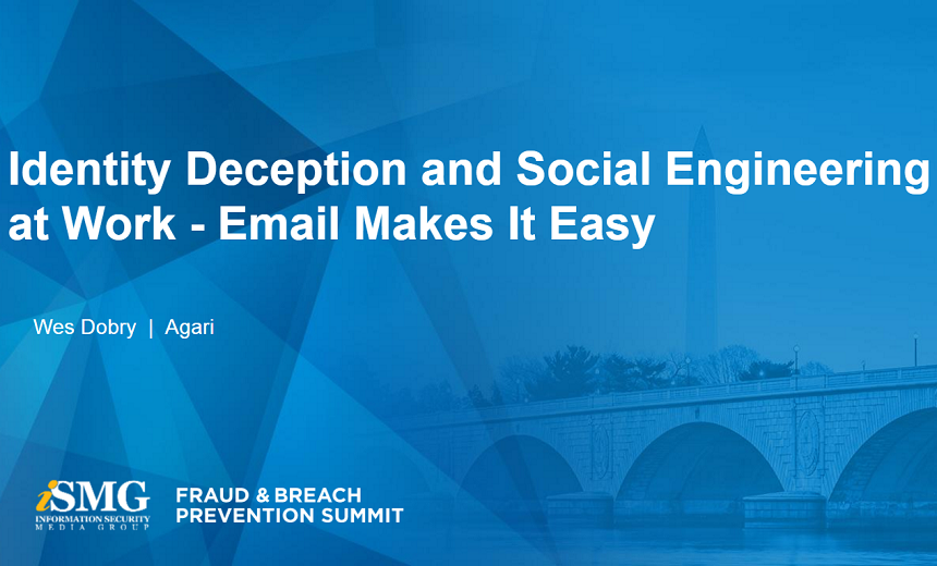 Identity Deception and Social Engineering at Work - Email Makes It Easy