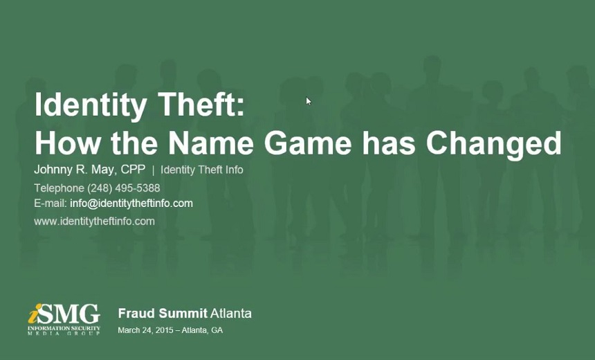 Identity Theft: How the Name Game Has Changed