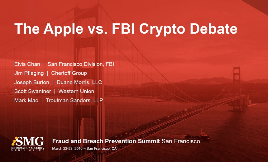 Panel: The Apple vs. FBI Crypto Debate