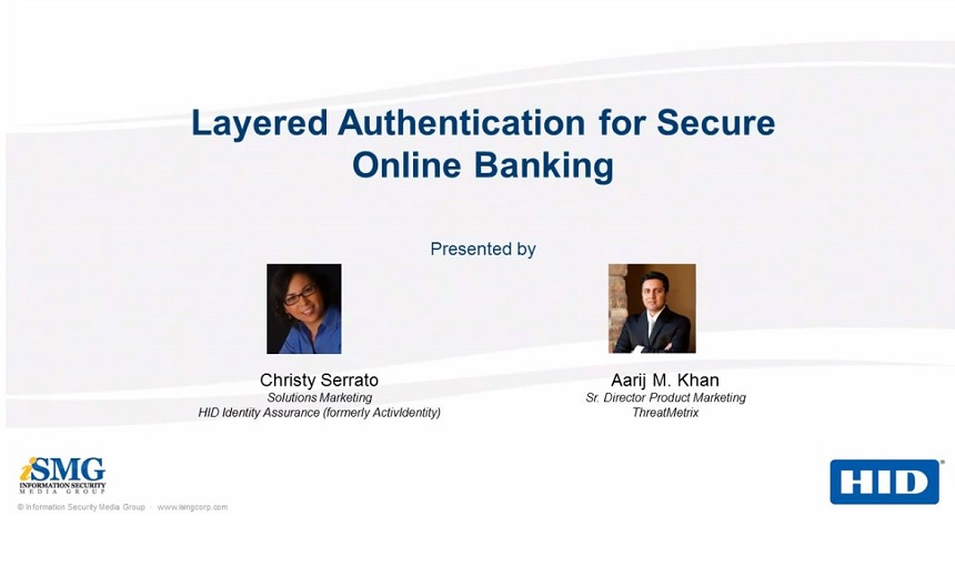 Layered Authentication for Secure Online Banking