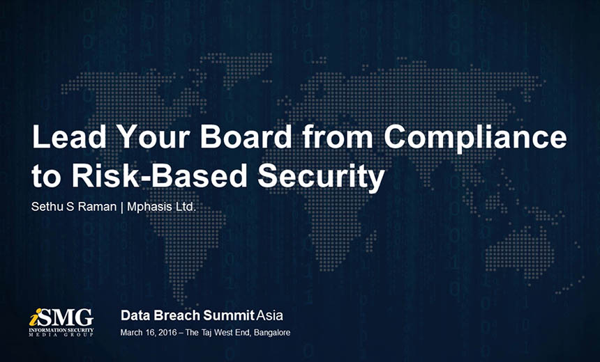 Lead your Board from Compliance to Risk-Based Security