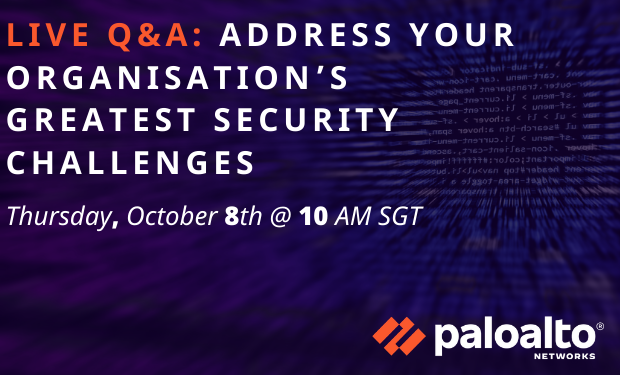 Live Q&A: Address your Organisation's Greatest Security Challenges