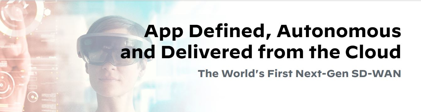 Live Webinar | App Defined, Autonomous  and Delivered from the Cloud