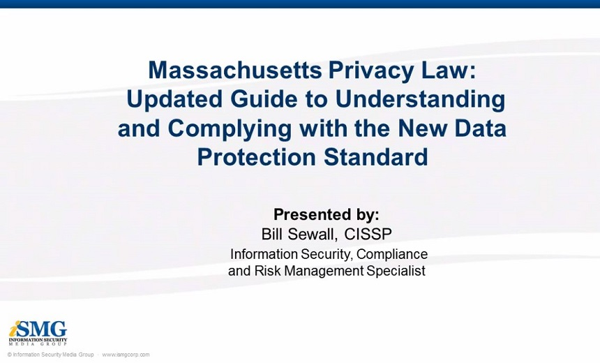 Massachusetts Privacy Law Update: A Guide to Understanding and Complying with this New Data Protection Standard