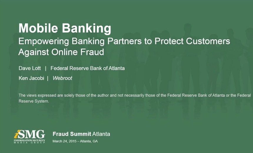 Mobile Banking: Empowering Banking Partners to Protect Customers Against Online Fraud