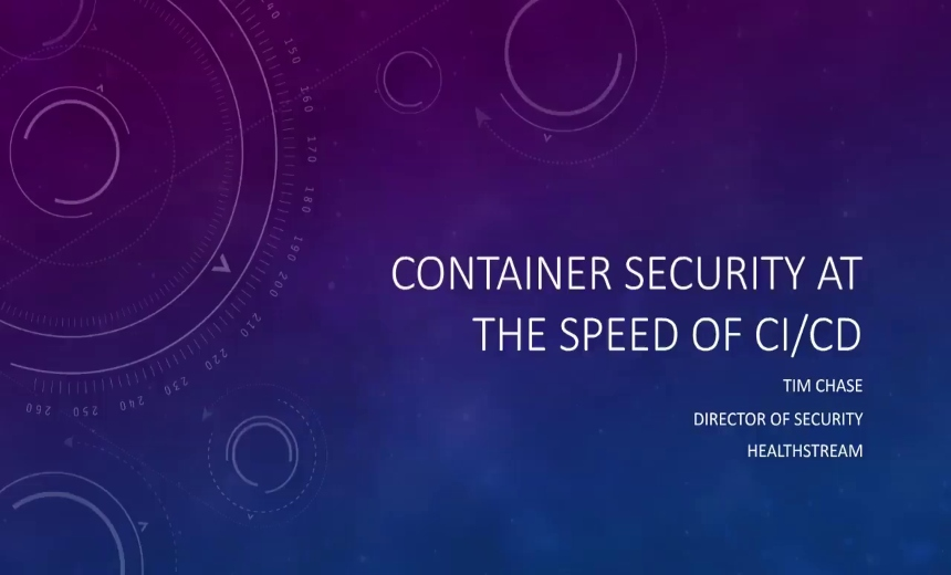 OnDemand Webinar: Container Security at the Speed of DevOps