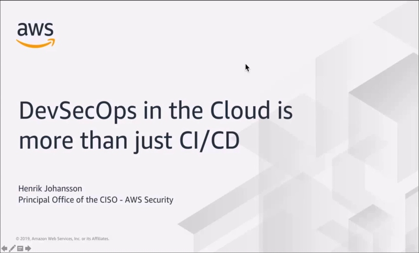 OnDemand Webinar | DevSecOps in the Cloud Is More Than Just CI/CD