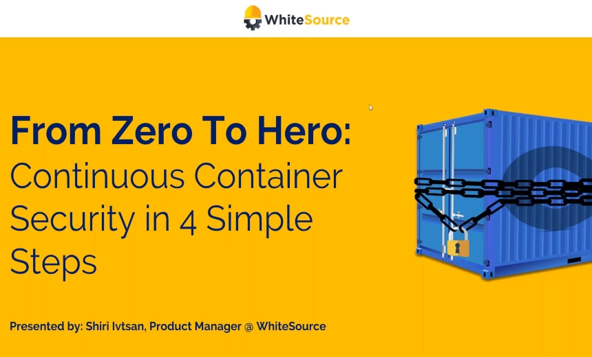 OnDemand Webinar | From Zero to Hero: Continuous Container Security in 4 Simple Steps