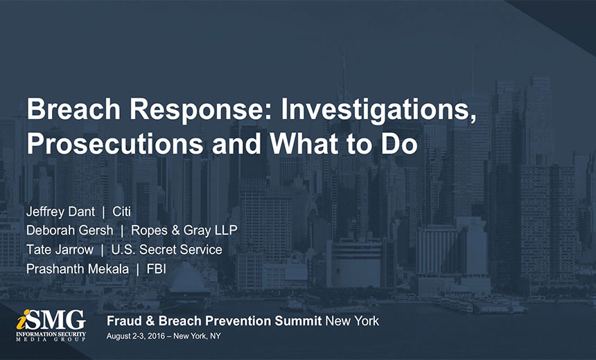 Breach Response: Investigations, Prosecutions and What to Do