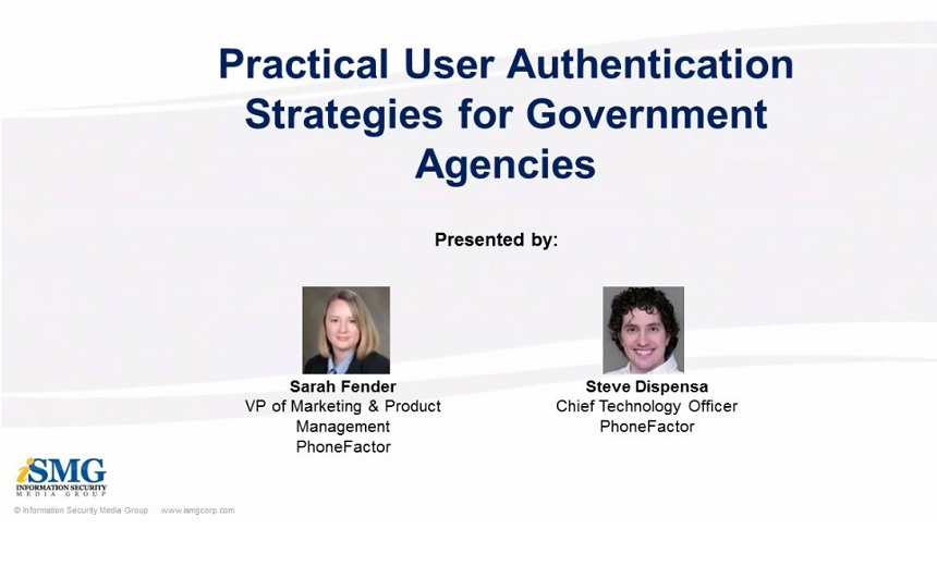 Practical User Authentication Strategies for Government Agencies