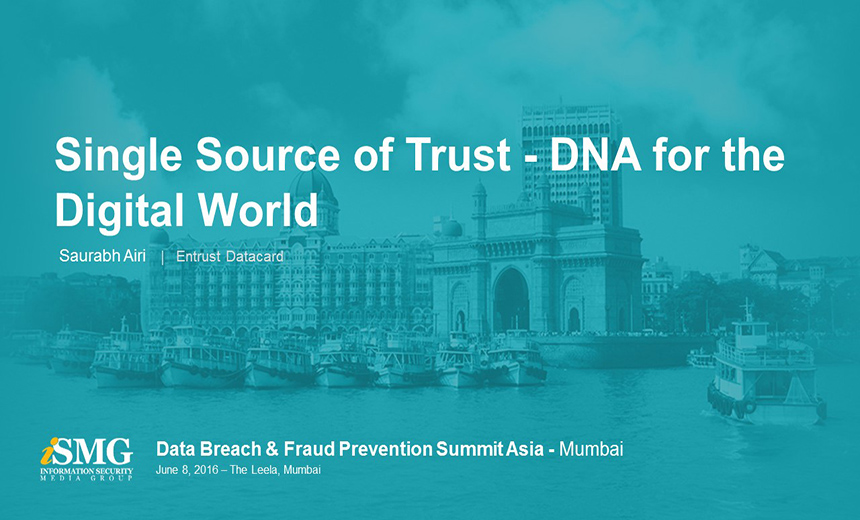 Single Source of Trust - DNA of the Digital World