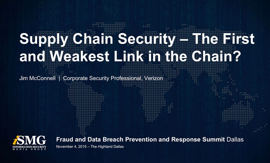 Supply Chain Security - The First and Weakest Link in the Chain?
