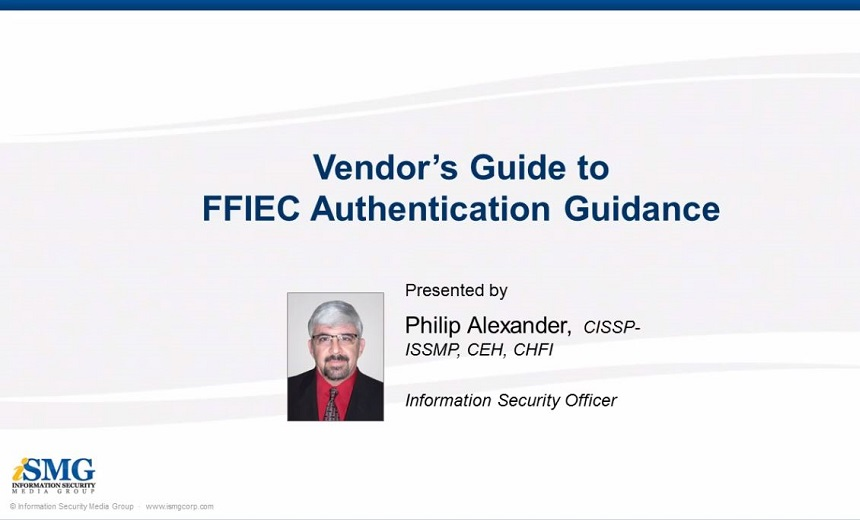 Vendors' Guide to the FFIEC Authentication Guidance