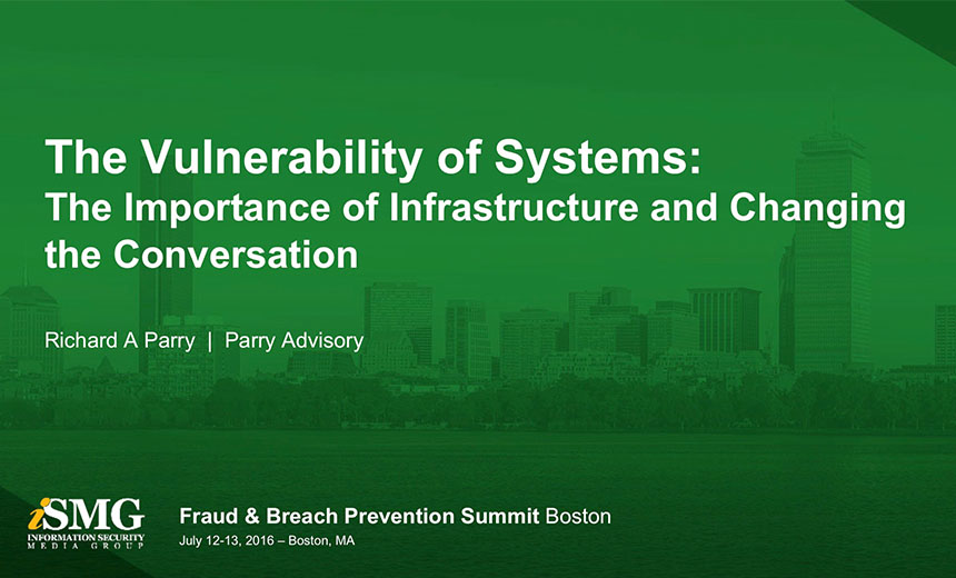 The Vulnerability of Systems: The Importance of Infrastructure and Changing the Conversation