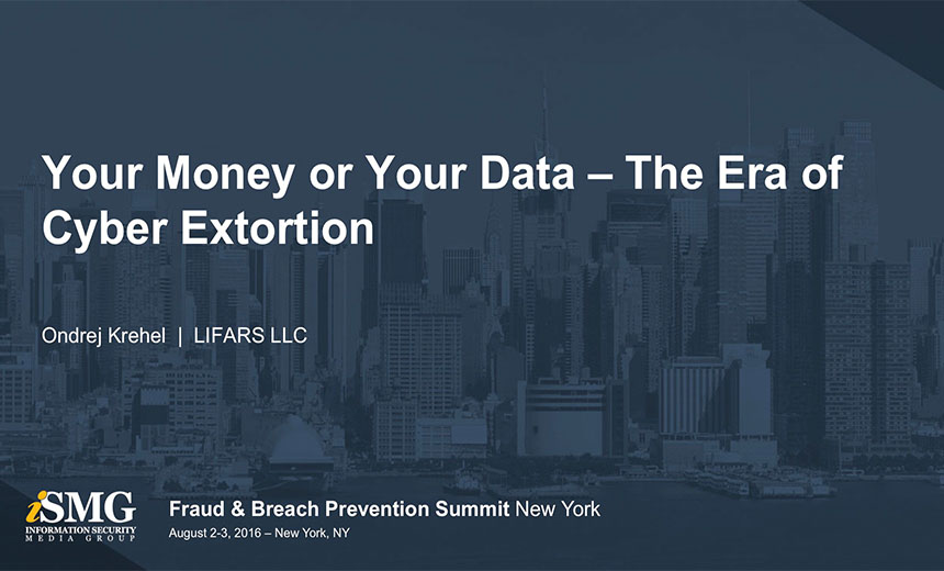 Your Money or Your Data - The Era of Cyber Extortion